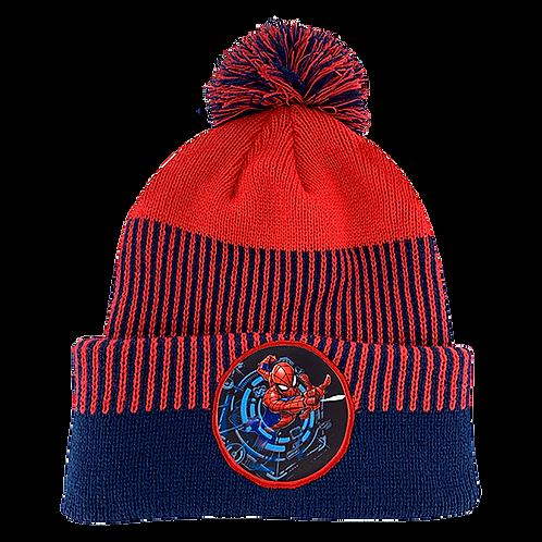 Marvel Avengers Spider-Man Pom-Pom Beanie Hat