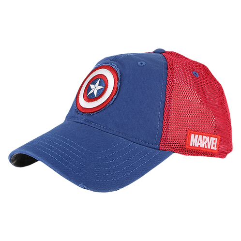 Marvel Avengers Captain America Mesh Crown Baseball Cap