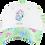 Thumbnail: Disney Princesses The Little Mermaid Ariel Baseball Cap with Floral Bill