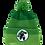 Thumbnail: Marvel Avengers Hulk Pom-Pom Beanie Hat