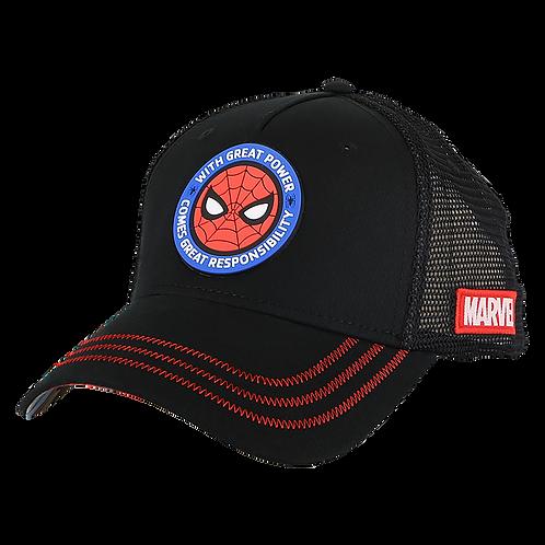 Marvel Avengers Spider-Man Mesh Crown Baseball Cap