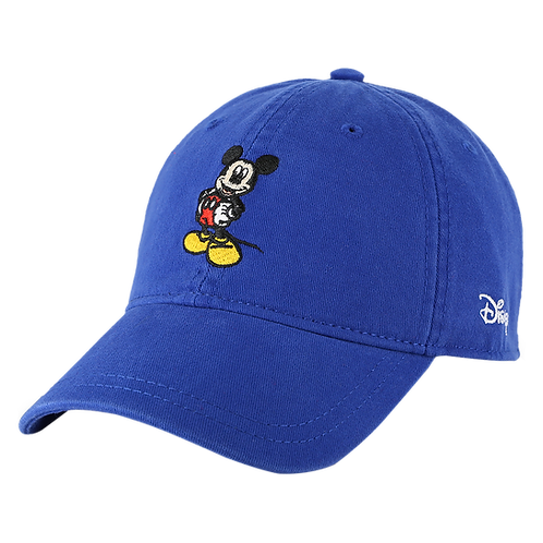 Disney Mickey Mouse Baseball Cap with Embroidered Logos