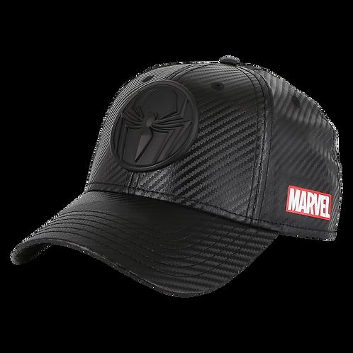 Marvel Avengers Spider-Man Carbon Fibre Effect Crown Baseball Cap
