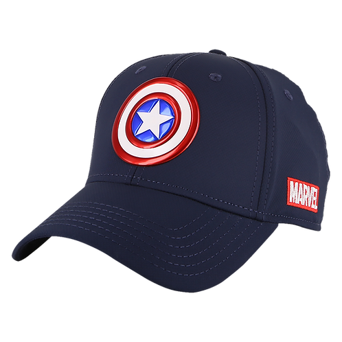Marvel Avengers Captain America Baseball Cap with TPU Patch