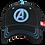 Thumbnail: Marvel Avengers Logo Baseball Cap Mesh Crown