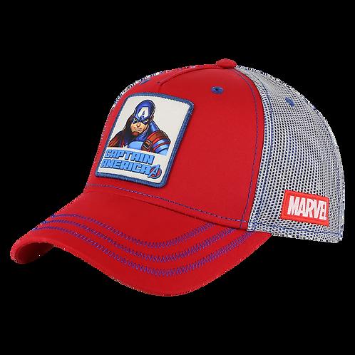 Marvel Avengers Captain America Trucker Cap Mesh Crown