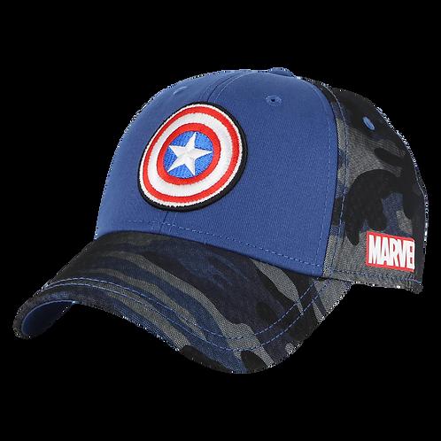 Marvel Avengers Captain America Camo Baseball Cap