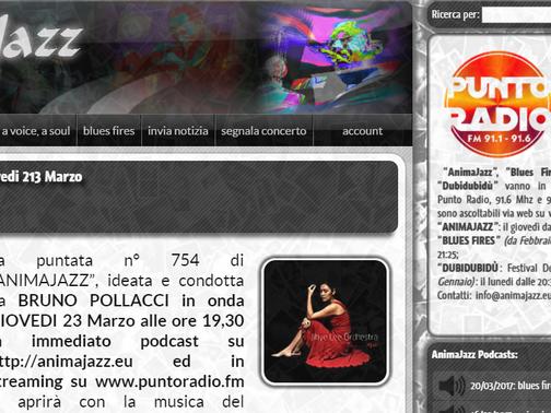 """""""Bauza"""", un brano di Havana Blue, nella puntata di """"AnimaJazz"""" su Punto Radio"""