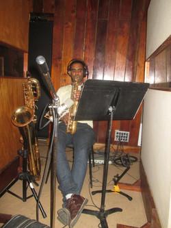 Yuniet Lombida, baritone sax, alto s