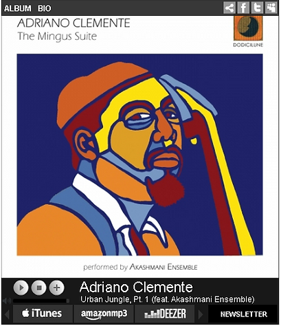 The Mingus Suite, Adriano Clemente, painting by M. Gil