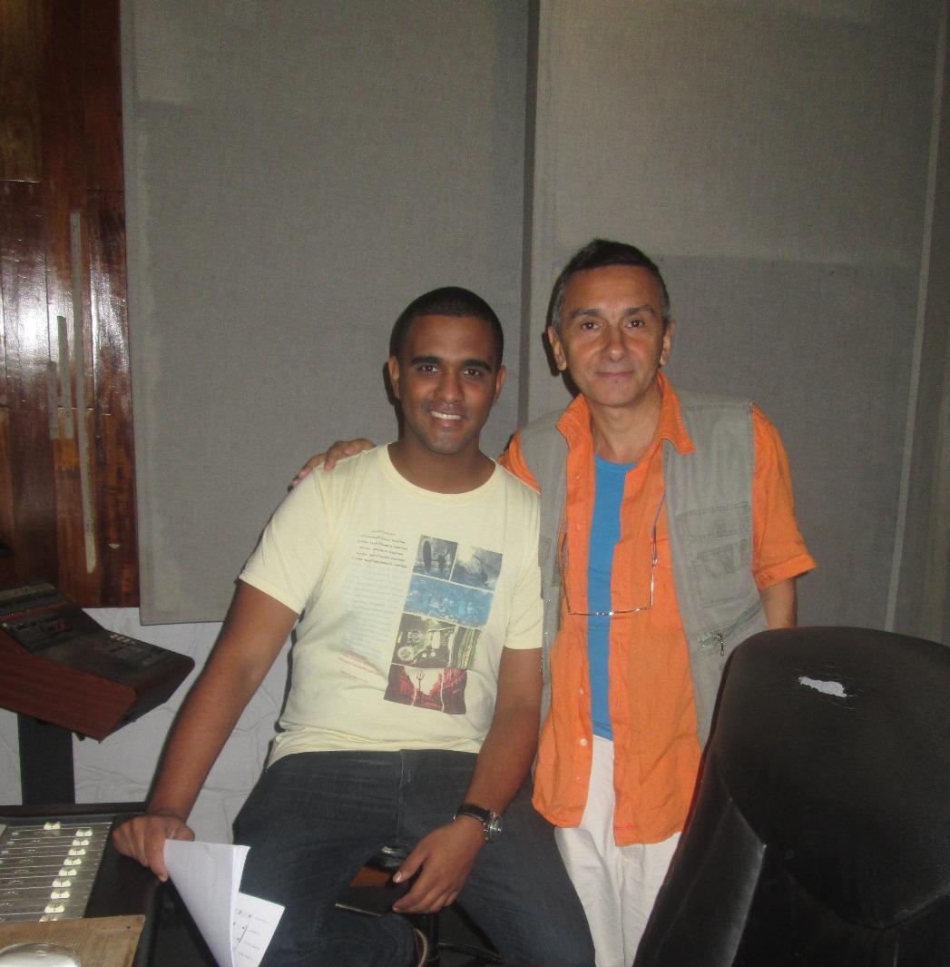 Adriano and Yuniet