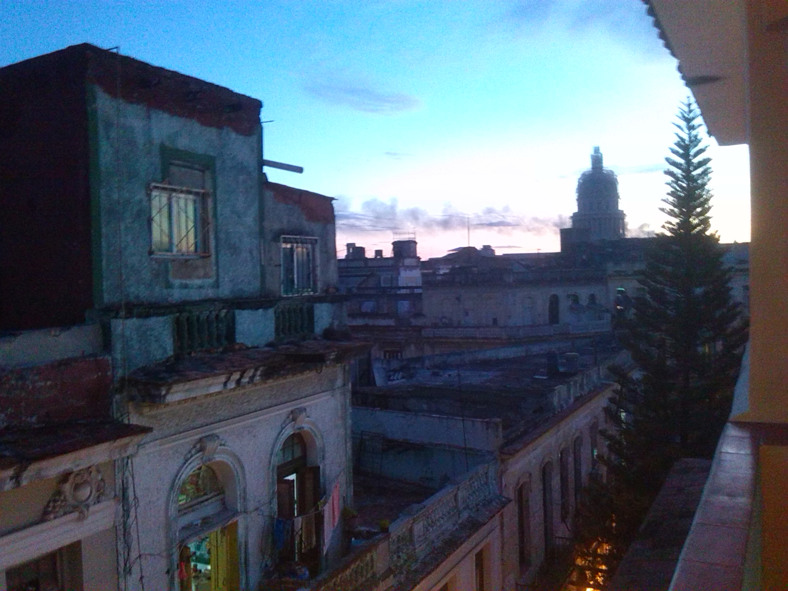 Havana Blue, view on El Capitolio