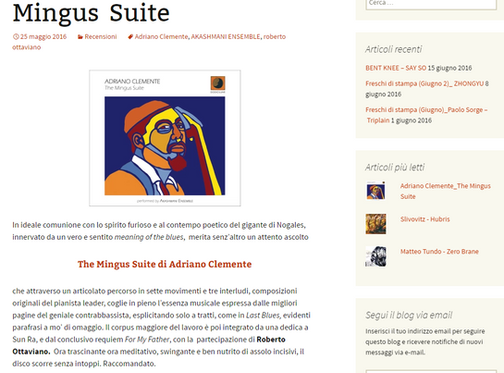 A good review on the Mingus Suite