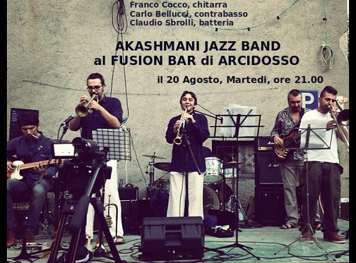 Hot Summer! New concert at Fusion Bar, Arcidosso