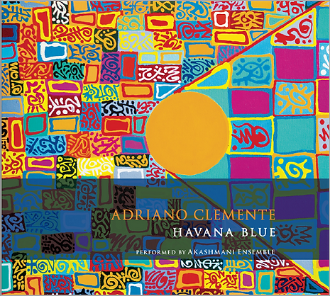 Havana Blue, Adriano Clemente, painting by A. Iannece
