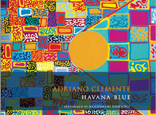 Painting by Antonio Iannece and my new CD Havana Blue