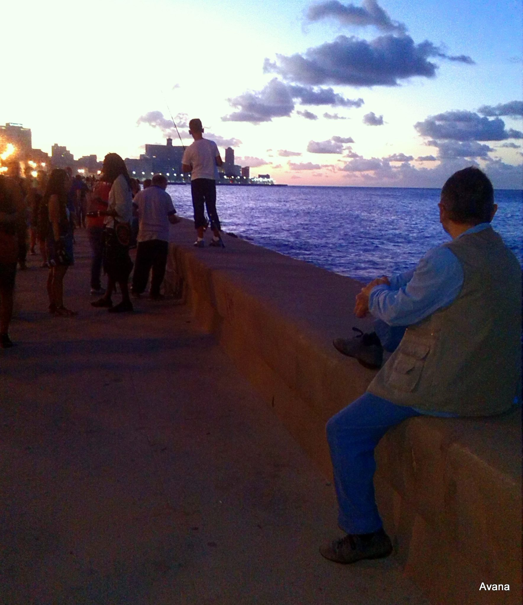 Adriano at Malecon, Havana, December