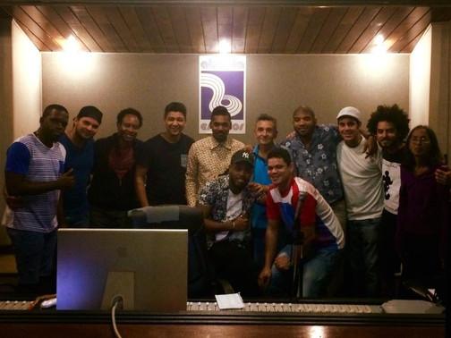 Recording new CD in Havana