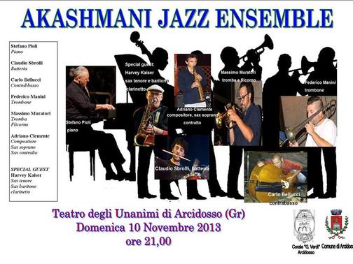 ! Akashmani Jazz Ensemble at the Teatro degli Unanimi!