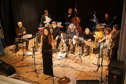 Ida Landsberg singing at Teatro degli Unanimi, Arcidosso, The Mingus Suite, Ida Landsberg voice