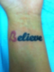 Believe with heart