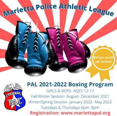 Marietta PAL-Boys and Girls Boxing Social Media Post