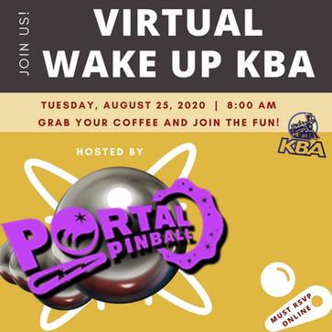 Wake Up KBA Flyer and social media post