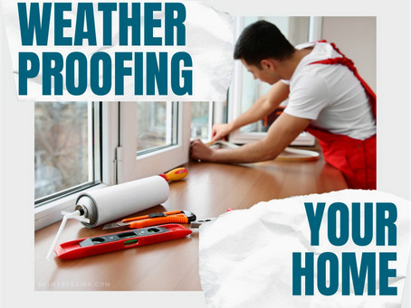 Winter Proofing Your Home ❄️