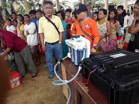 Philippine village using Powerenz water.png