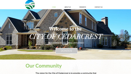 The City of Cedarcrest