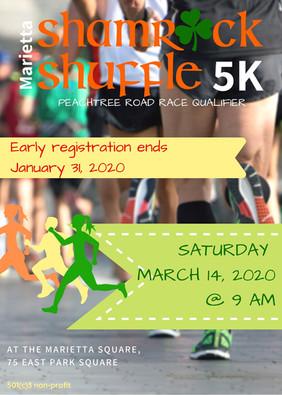 Shamrock Shuffle Flyer 2