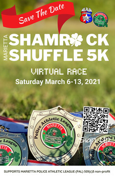 Shamrock Shuffle Medal Flyer