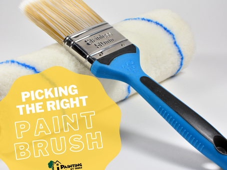 Let's Talk Paint Brushes and Rollers