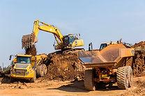 Construction Earthworks Excavator Grader