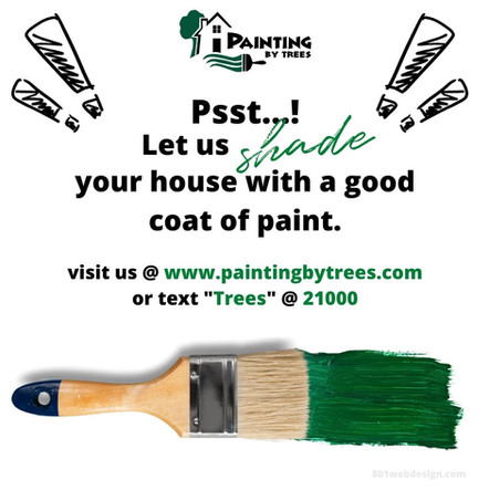 Painting By Trees Social Media Post