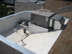 TPO-Custom AC platform and ducting