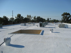 Near the End of Coating Process