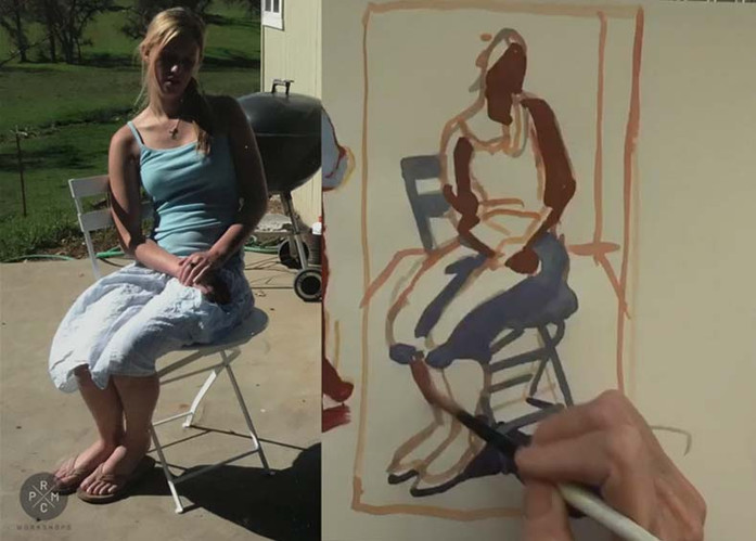 Peggi Kroll Roberts Strategies for Improving your Drawing & Painting