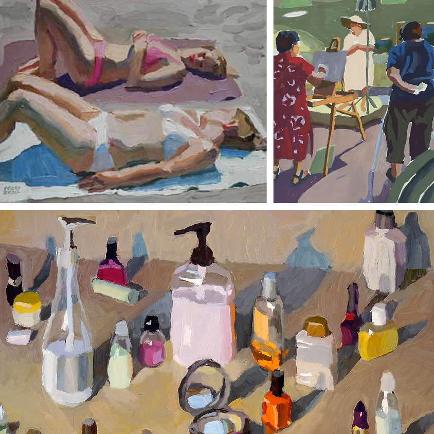 Peggi Kroll Roberts: Painting the Still Life & Figure in Gouache