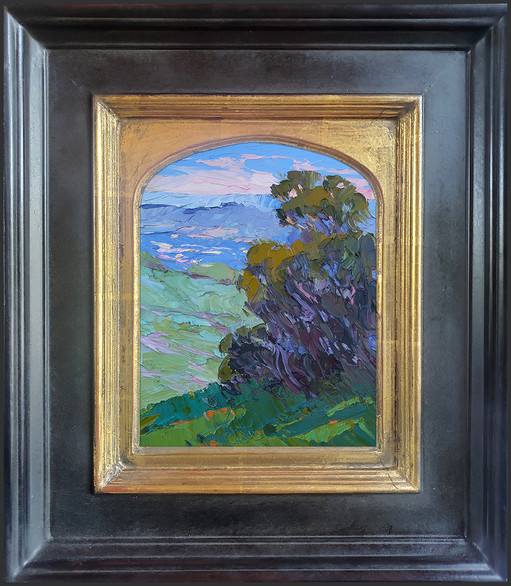 """""""AFTERNOON SHADOWS"""" - AVAILABLE - Oil painting by Carole Gray-Weihman - Frame by Masterworks Frames"""