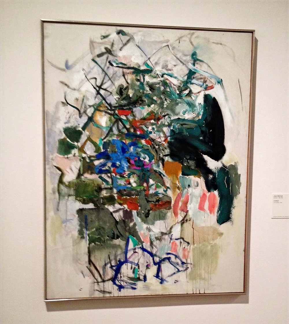 """Peggi Kroll Roberts, """"And of course Joan Mitchell. She did a series of sunflowers that are wonderful."""""""