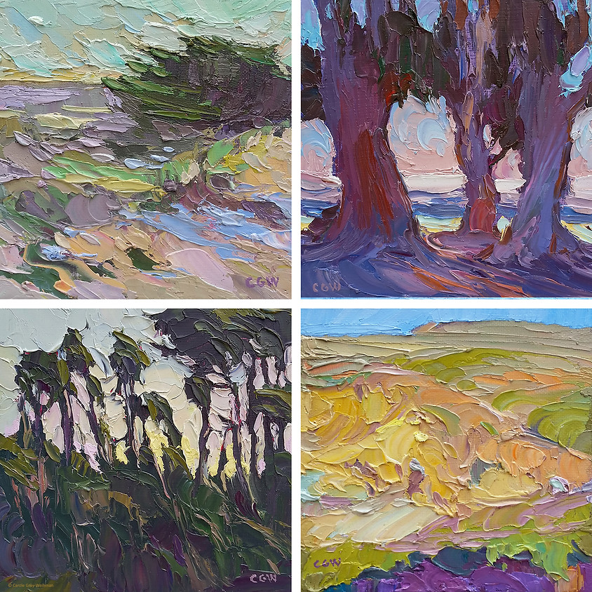 Carole Gray-Weihman: Abstracting the Landscape