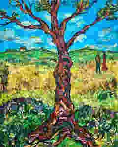 Oil Painting by David Sandum