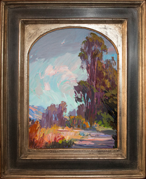 """""""MORNING MELODY"""" - SOLD - Oil painting by Carole Gray-Weihman - Frame by Masterworks Frames"""
