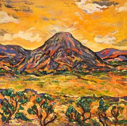 LANDSCAPE #4, Oil painting By David Sandum