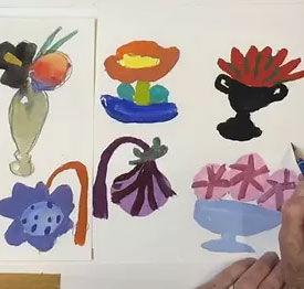 Peggi Kroll Roberts - Unusual Flowers Online Class