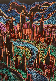 DARK CITY PANDEMIC By David Sandum