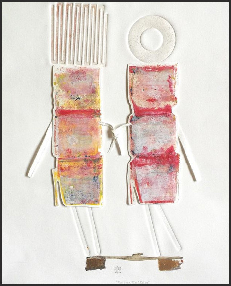 """""""The Ties That Bind"""", by Karin Bruckner - Twitter Art Exhibit"""
