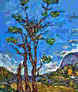 """The Birds Nest"", Oil - 73 x 92 cm (28.5 x 36.7 inch)"