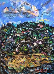 Gouache painting By David Sandum